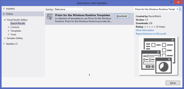 Extensions and Updates