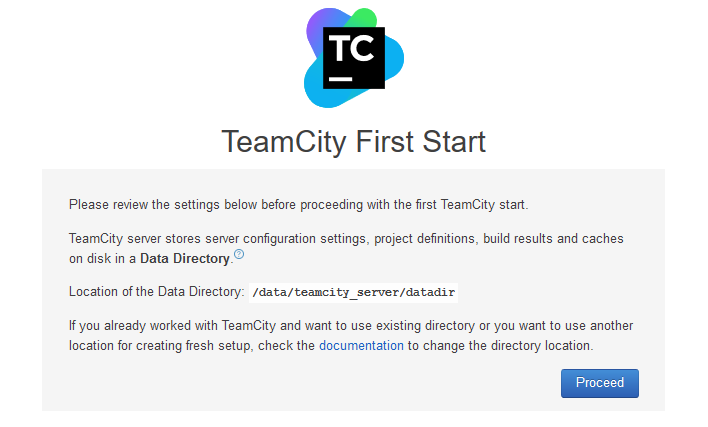 Configuring TeamCity to run in Docker on Linux and build